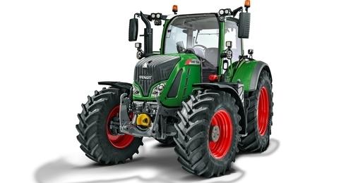 Fendt 724 Tractor