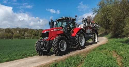 Massey Ferguson 726 High Horsepower Tractor