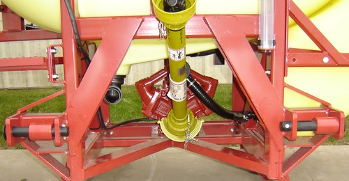 Hardi MEGA 3pt hitch mount sprayer