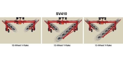 Massey Ferguson V+Y Wheel Rake SV410
