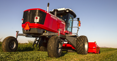 Massey Ferguson WR9860 Windrower