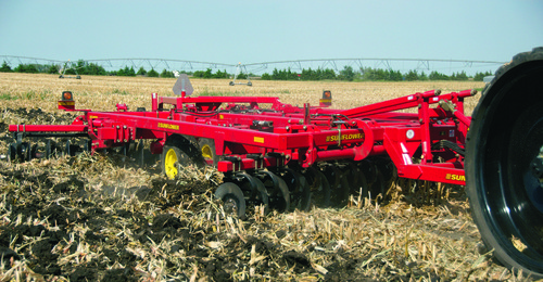 Sunflower Primary Tillage 4412