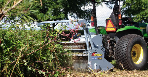Baumalight 500 Series Brush Fire Mulcher