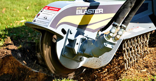 Baumalight Self-Propelled Stump Grinder