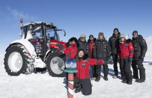 Massey Ferguson at South Pole