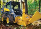 Wallenstein BXH Skidsteer Wood Chipper