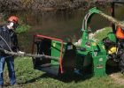 Wallenstein BXr Series Hydraulic 3PH Wood Chippers