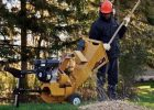 Wallenstein BXC Hand Cart Wood Chipper
