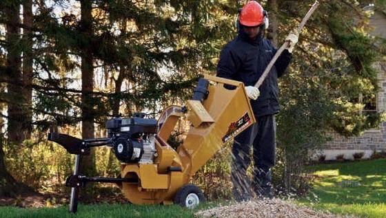 Wallenstein BXC Hand Cart Wood Chipper