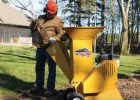 Wallenstein BXMC Hand Cart Wood Chipper/Shredders