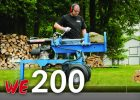Wallenstein WE200 Series Wood Splitter