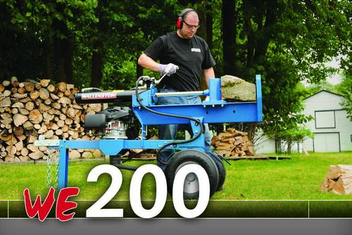 Wallenstein WE200 Series Wood Splitter