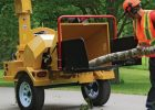 Wallenstein BXTR Series Trailer Wood Chipper