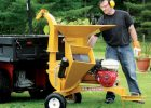 Wallenstein BXMT Series Trailer Wood Chipper/Shredders