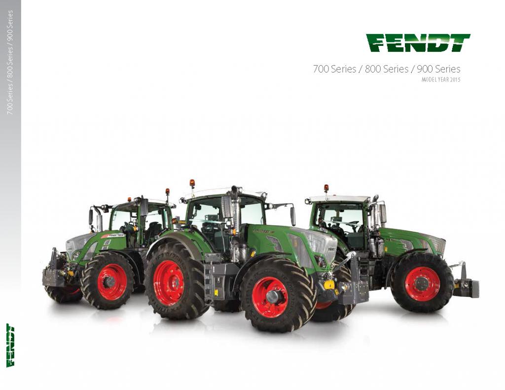 Fendt 700 / 800 / 900 Series Brochure