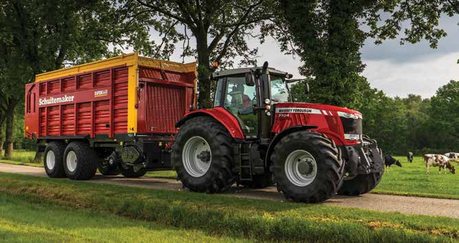 Massey Ferguson 7714 115HP Tractor
