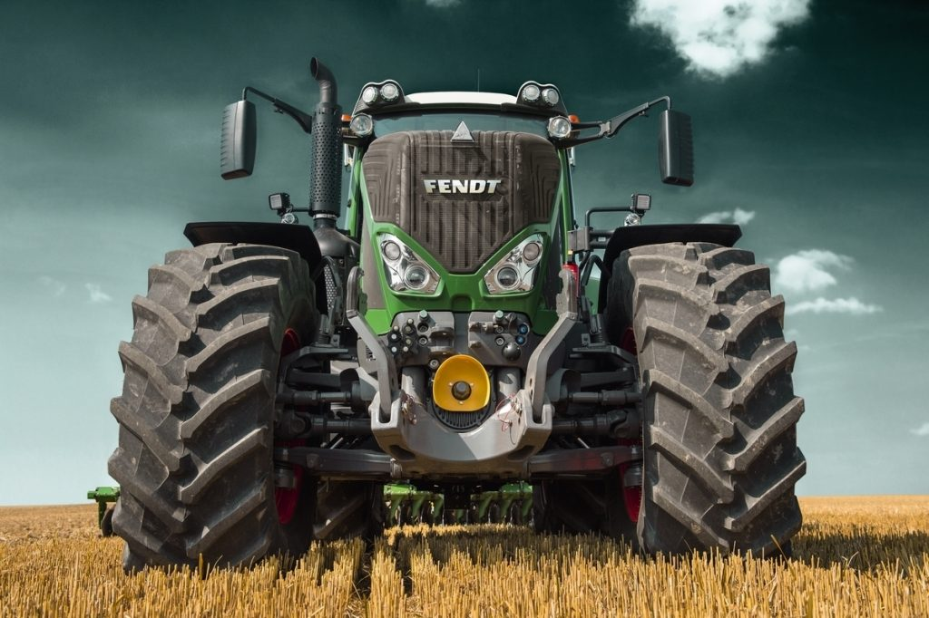Fendt front 3 point hitch