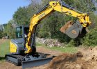 Gehl Z55 Compact Excavator