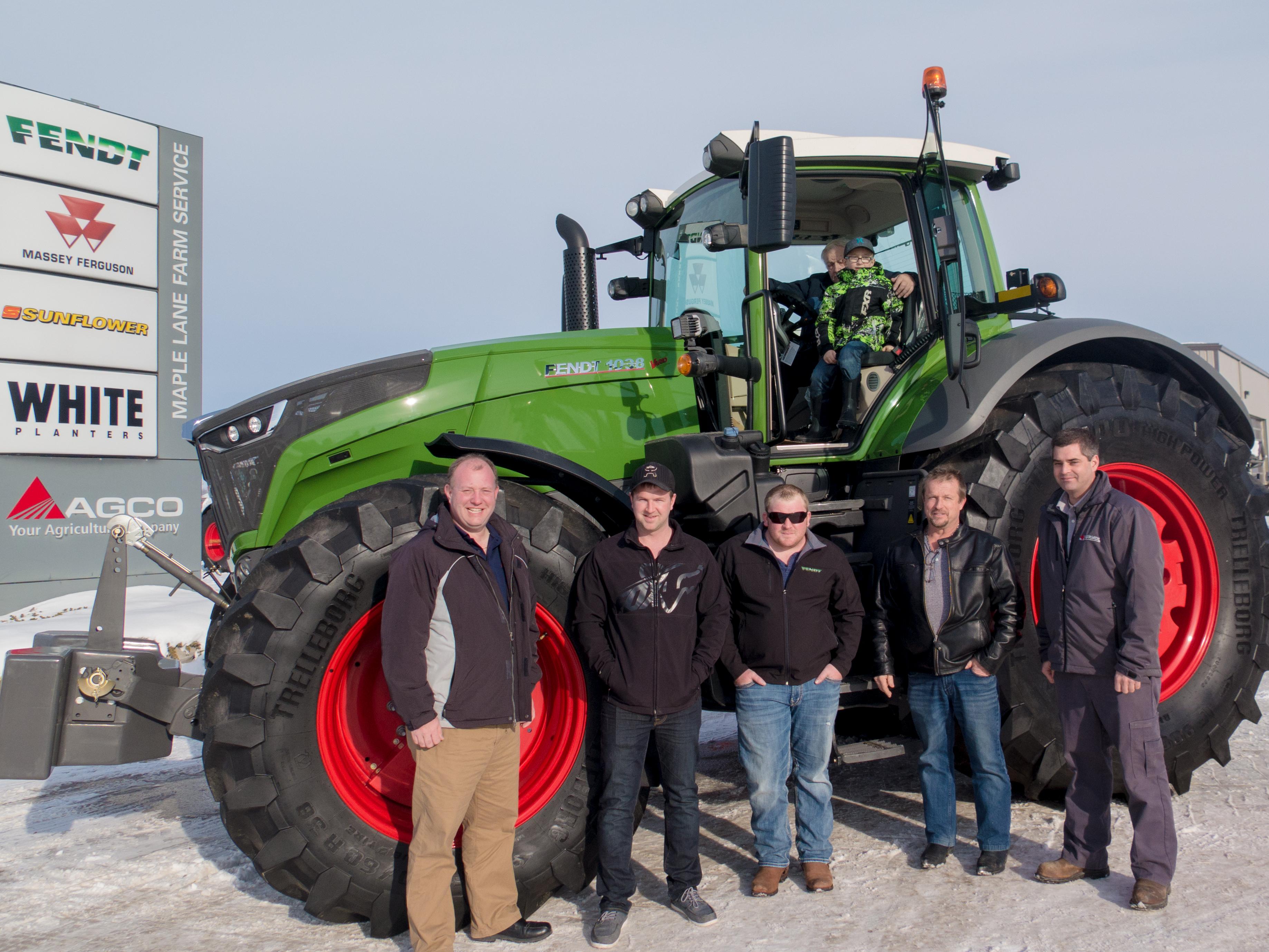 Ktm Dealers Ontario >> Farmlife Feature Maple Lane Customer Loves Fendt Maple