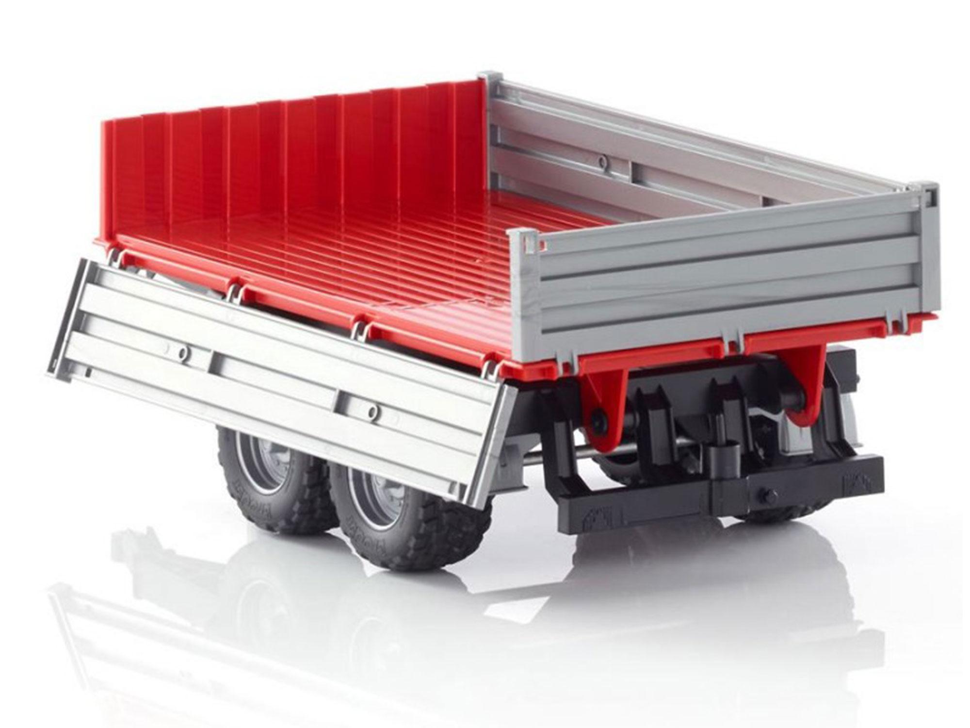 bruder dump trailer