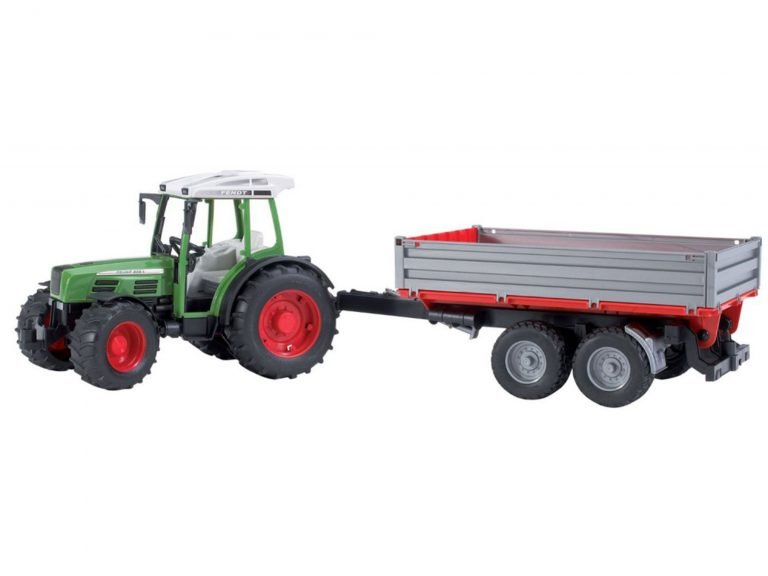 Bruder Fendt 209 S and Dump Trailer