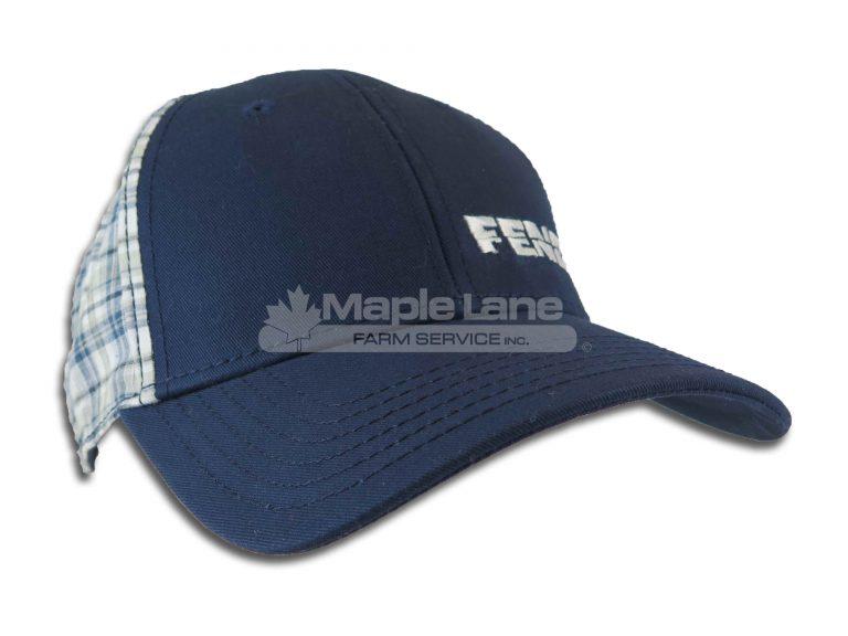 fendt blue plaid hat