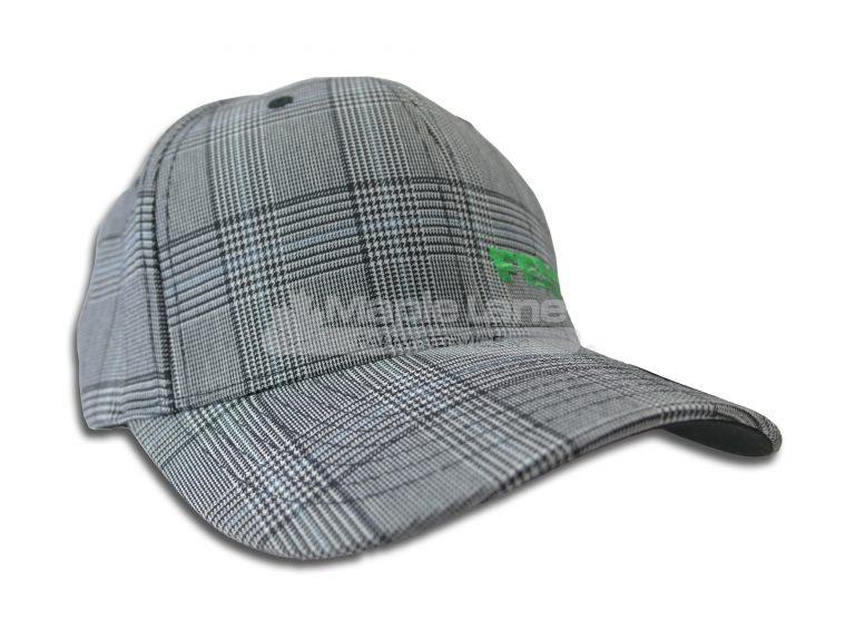 fendt plaid flexfit green logo hat