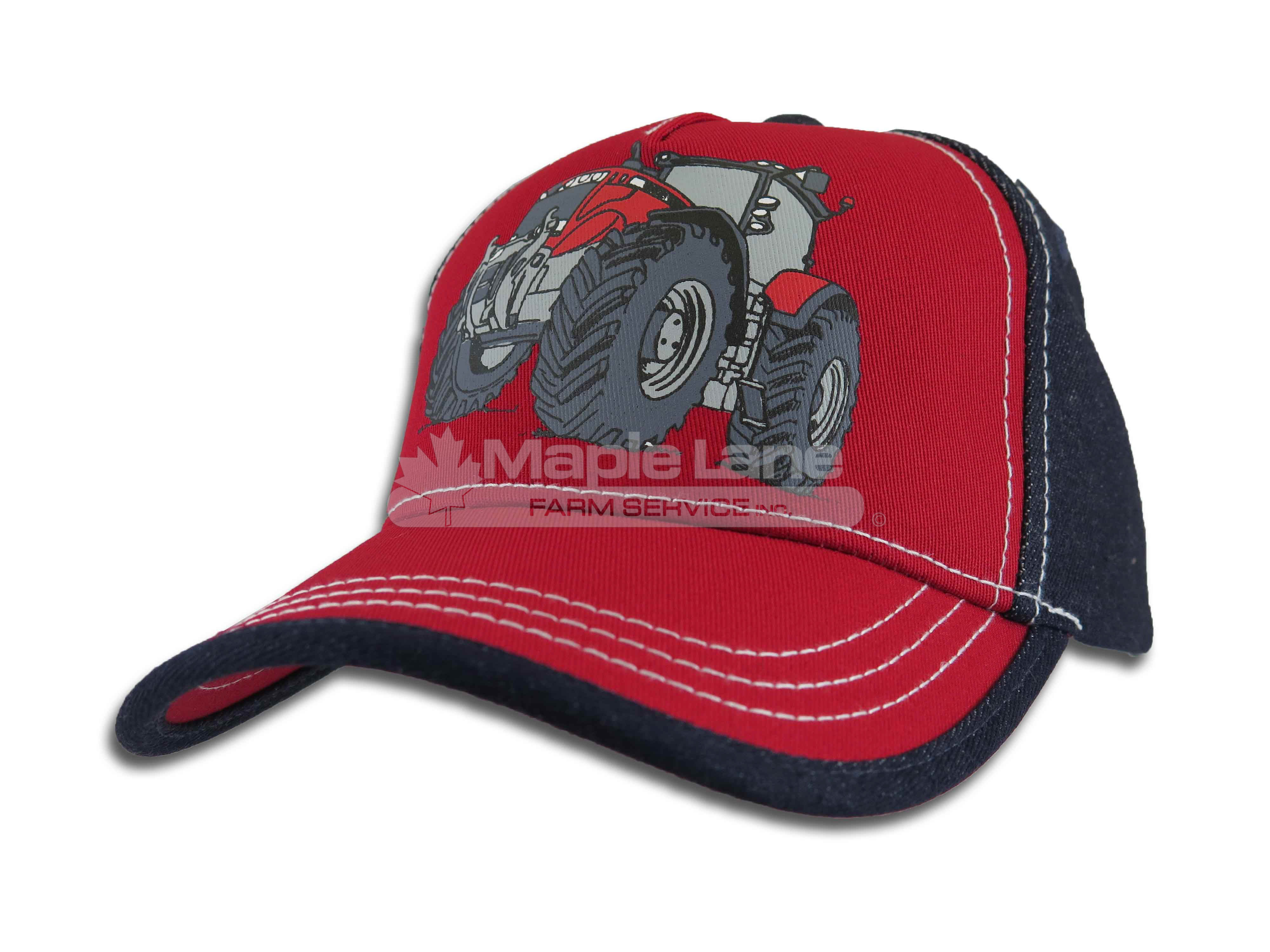 massey kids tractor hat