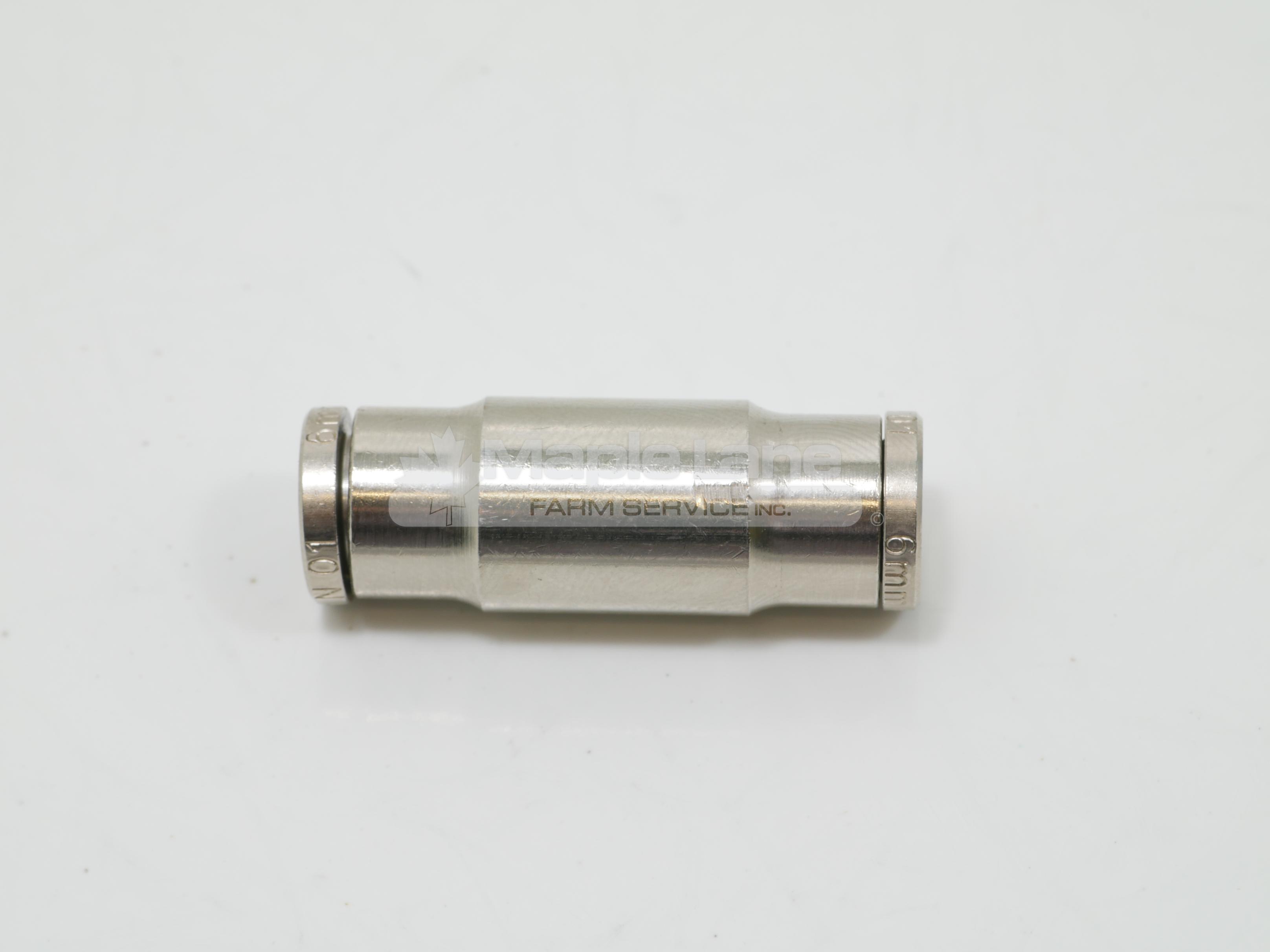 23212403 6mm OD Hose Connector