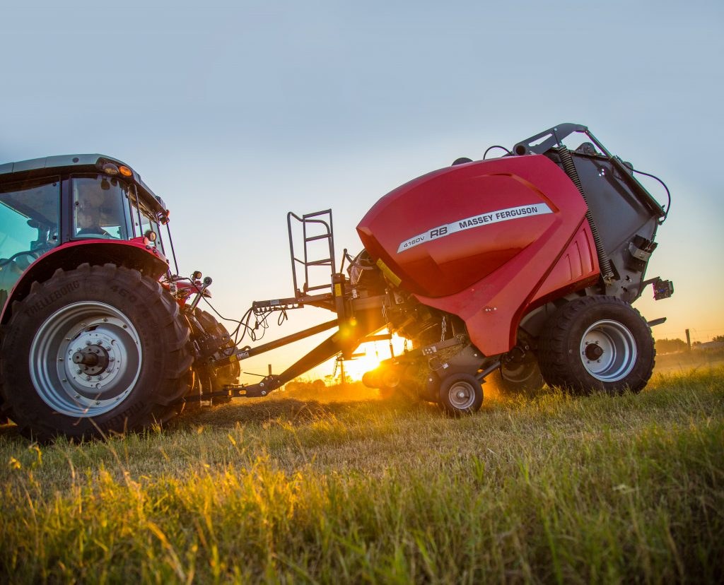 Take a look inside the NEW 4100V RB Series round balers | Maple Lane