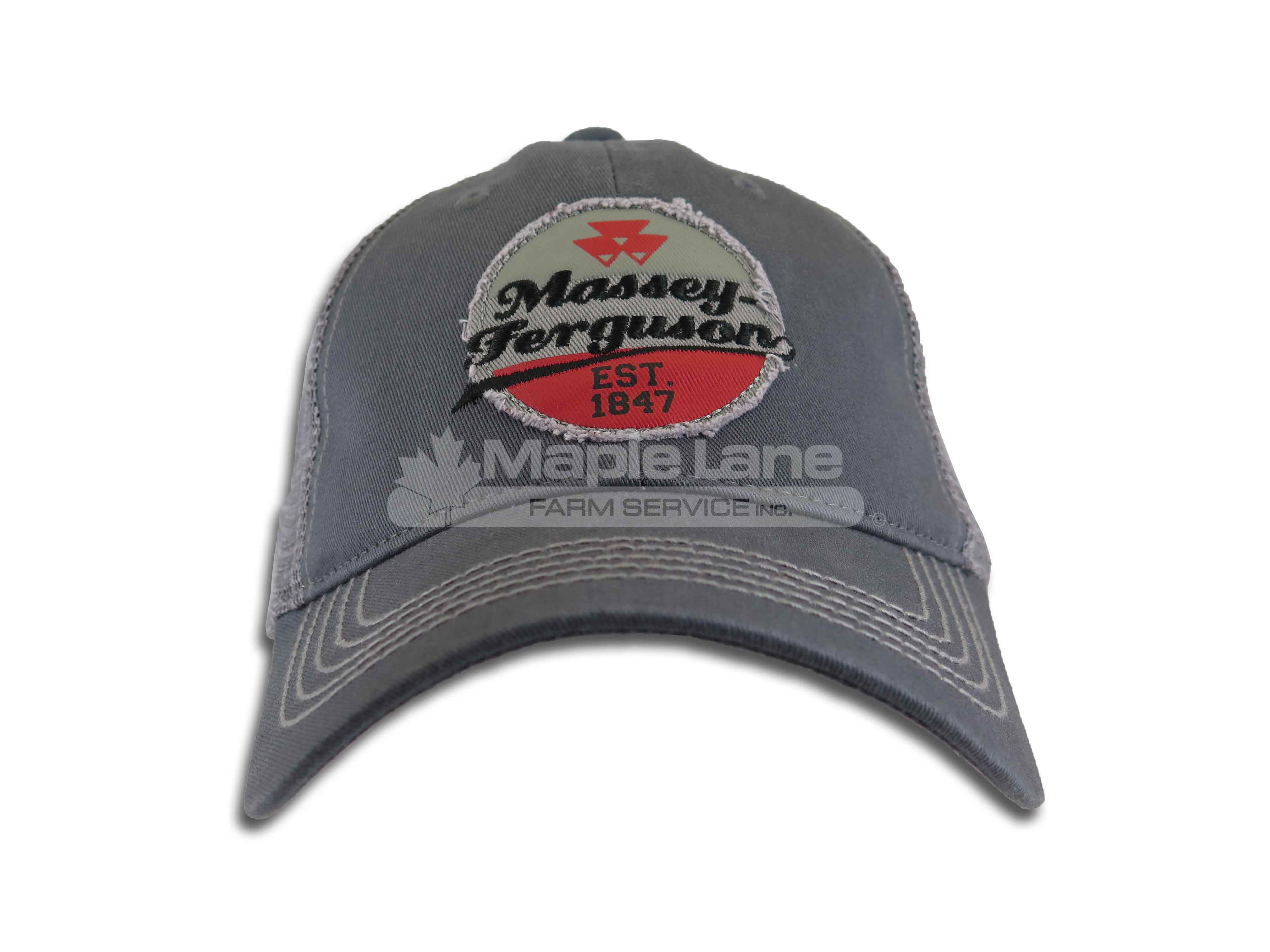 massey retro patch hat