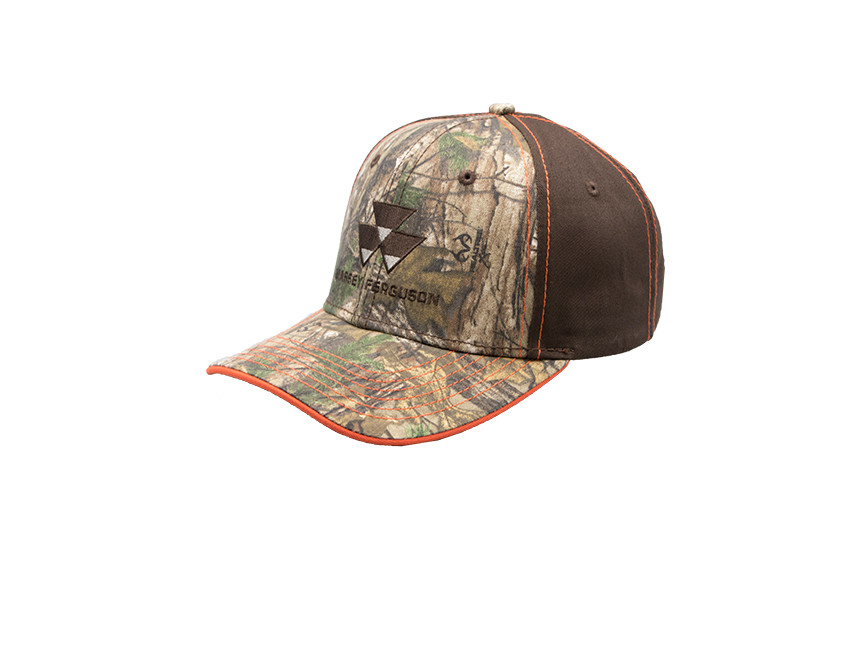 massey ferguson brown realtree hat