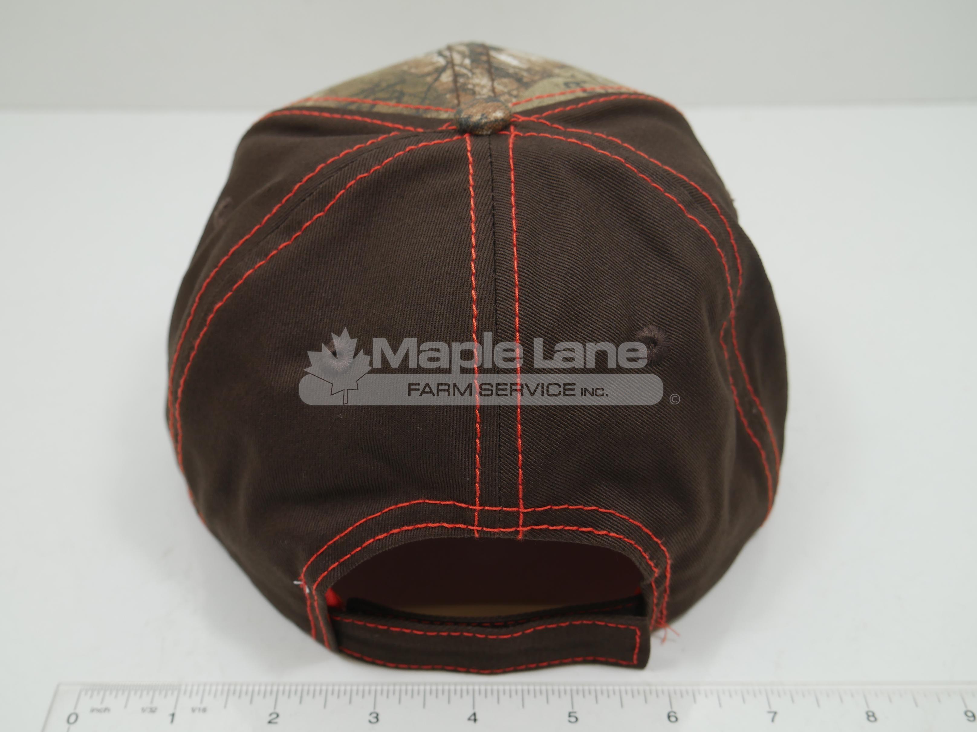 massey ferguson brown realtree hat