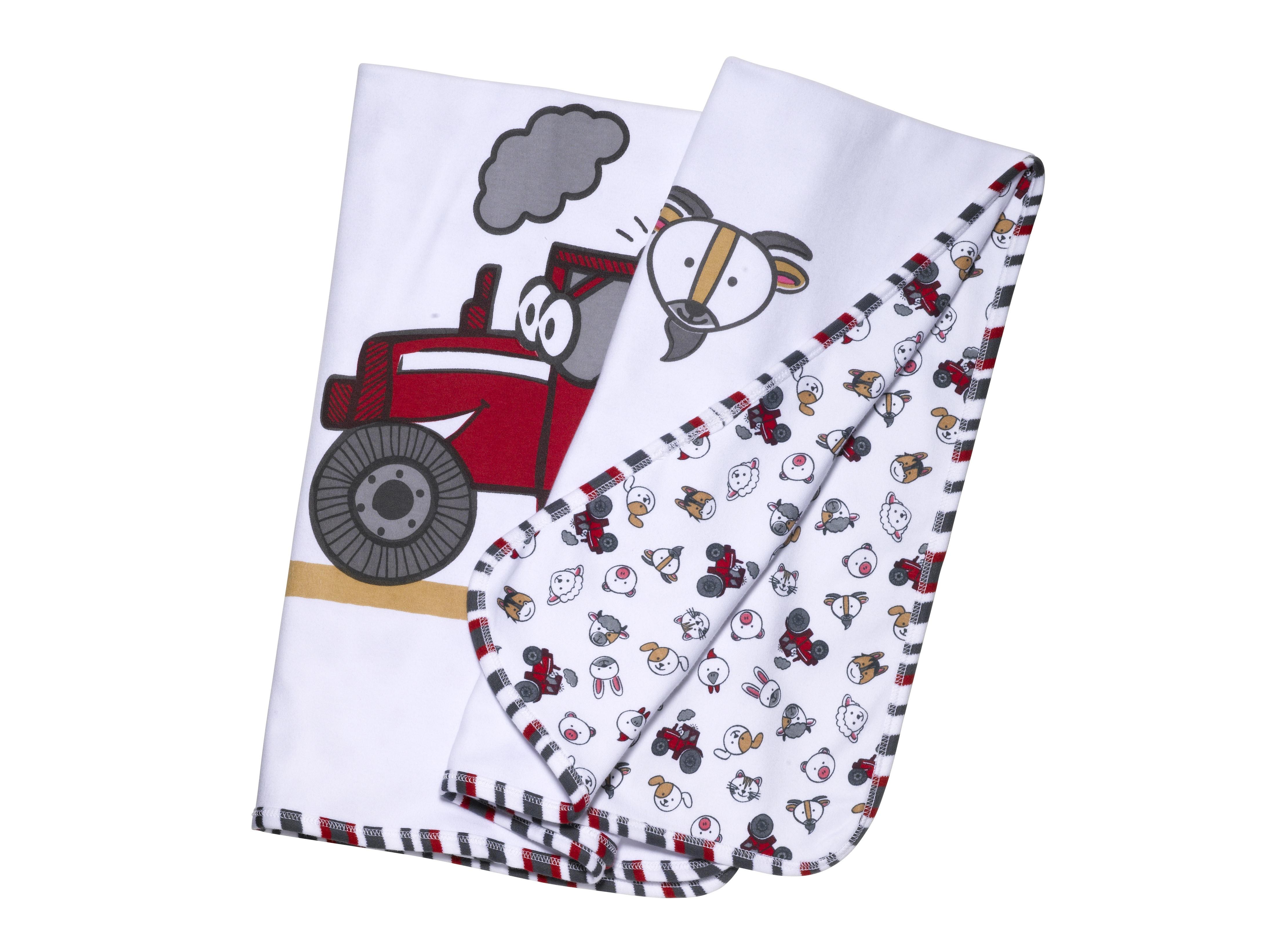 Massey Ferguson Baby Blanket