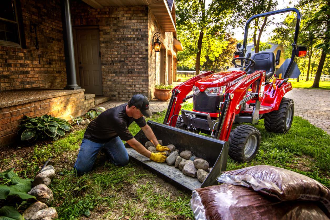 Bring Big Benefits to your Property with Massey Ferguson