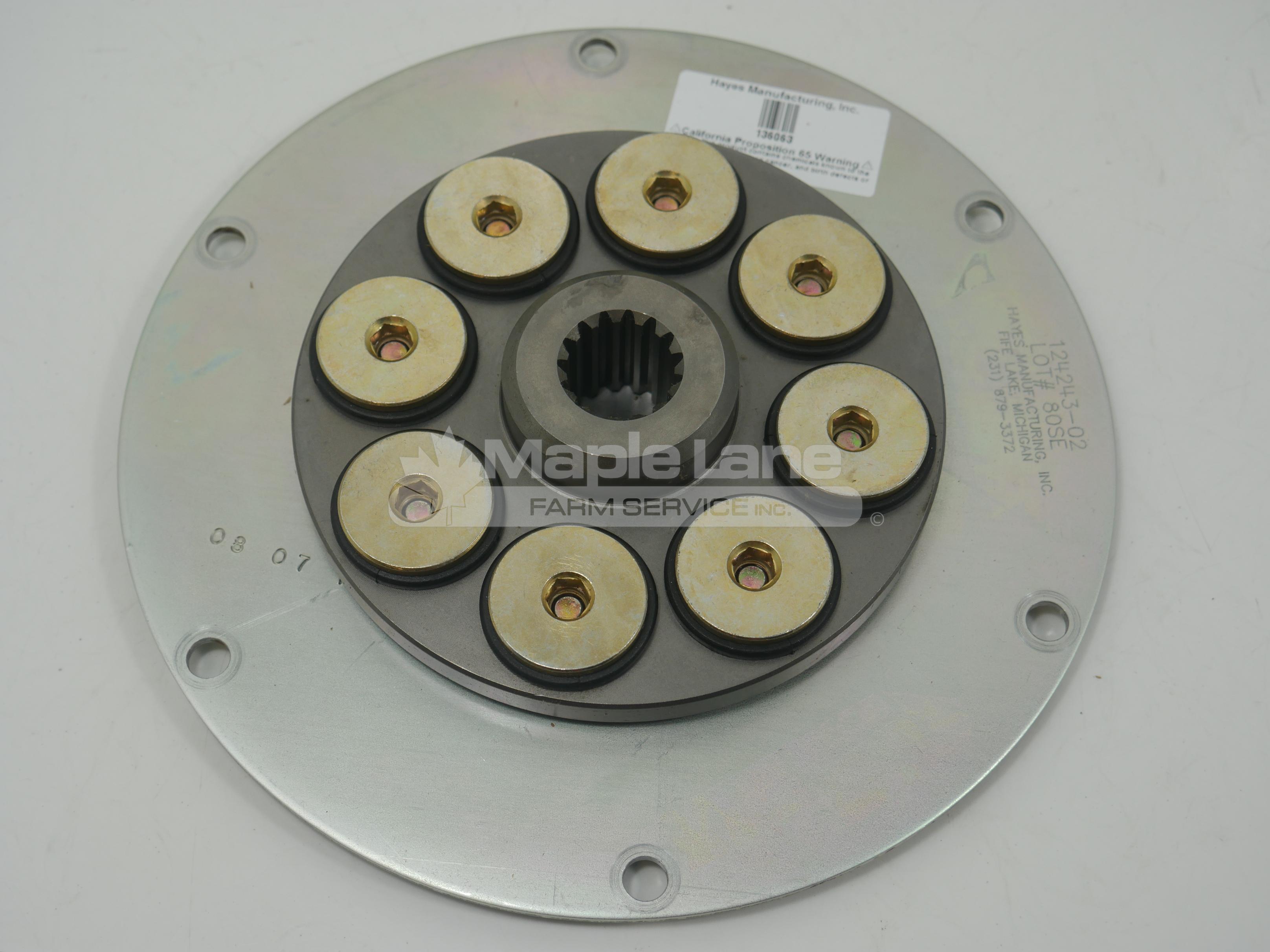 136063 Flywheel Coupling