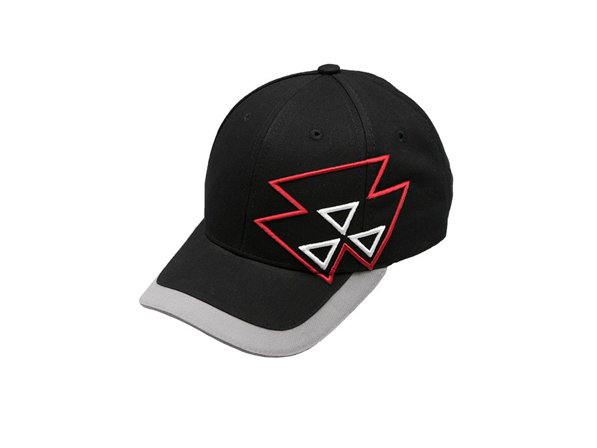 massey ferguson 3d triangles hat