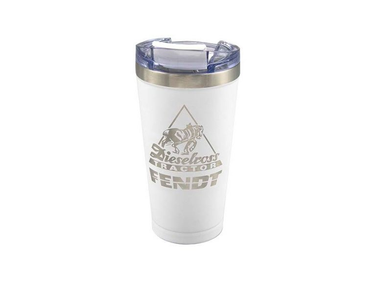 Fendt Stainless Decal Travel Mug