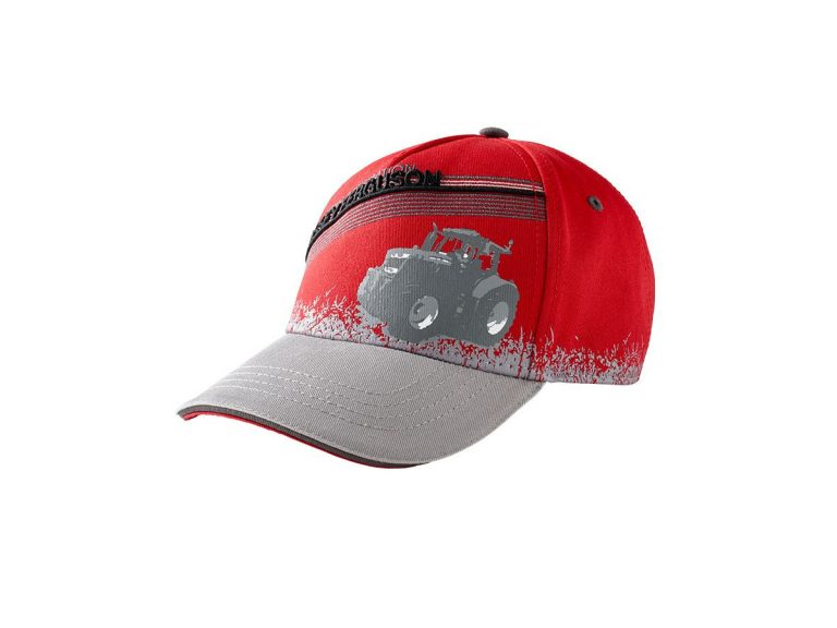 massey ferguson red kids cap