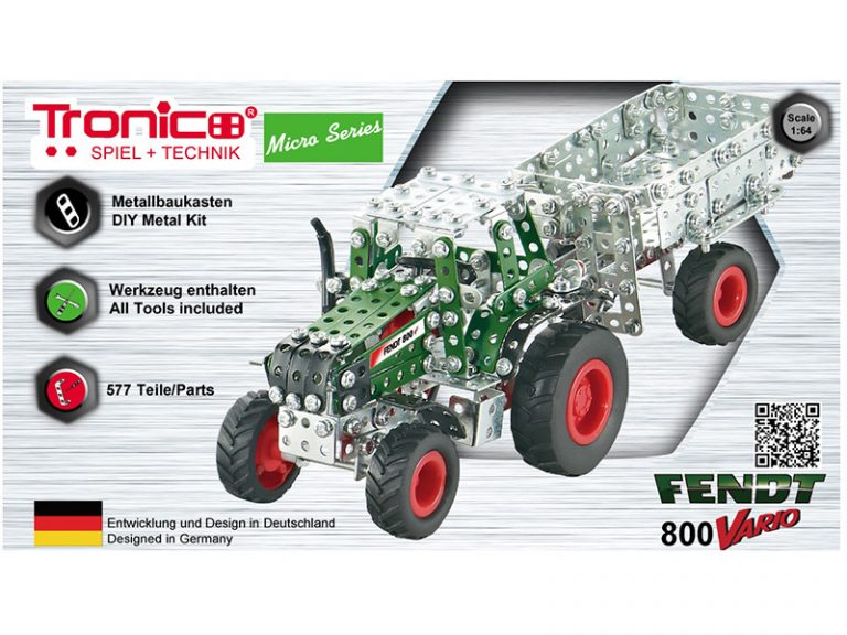 fendt vario 800 with trailer