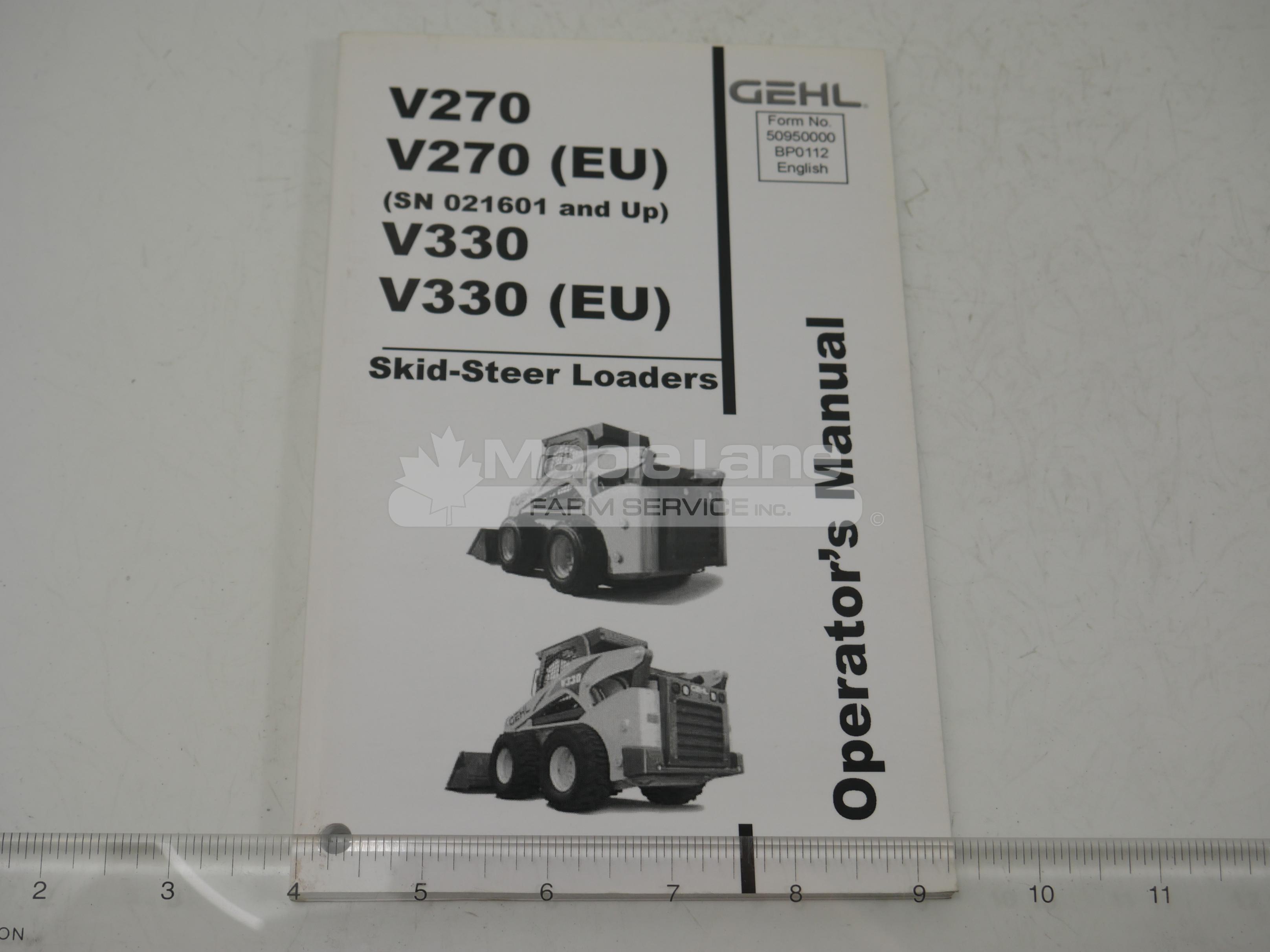 50950000 Operator Manual