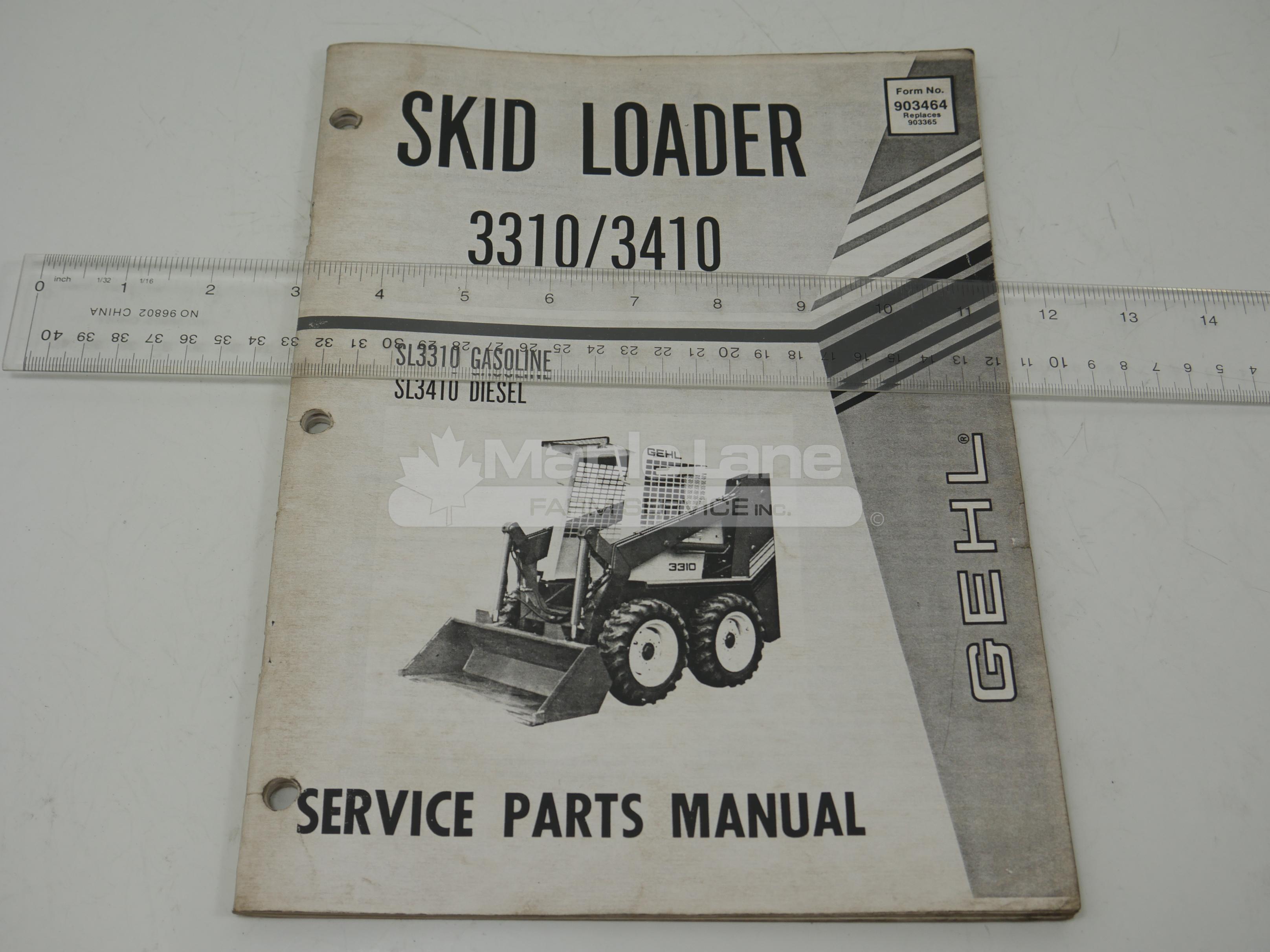 903464 Parts Manual