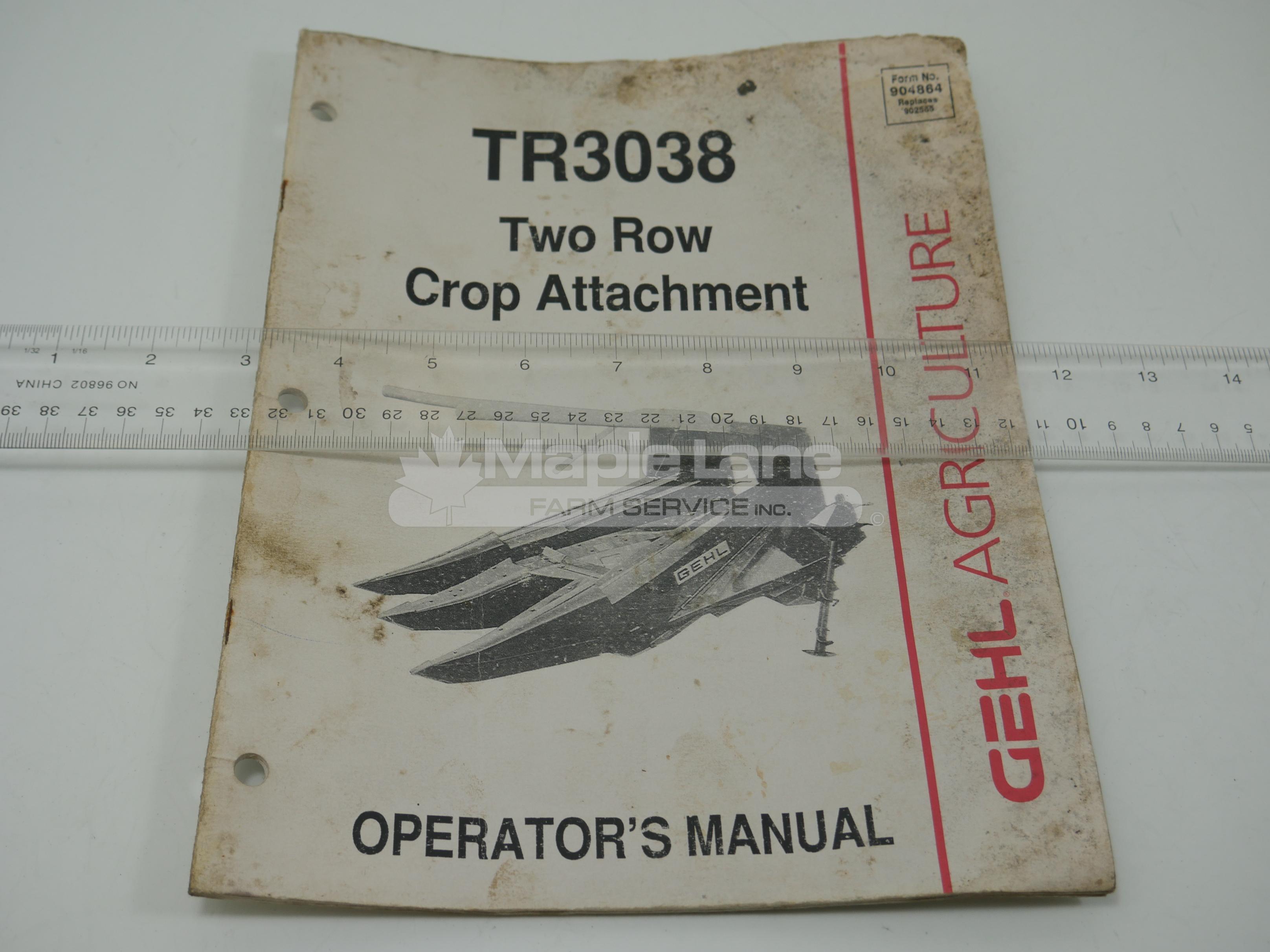 904864 Operator Manual