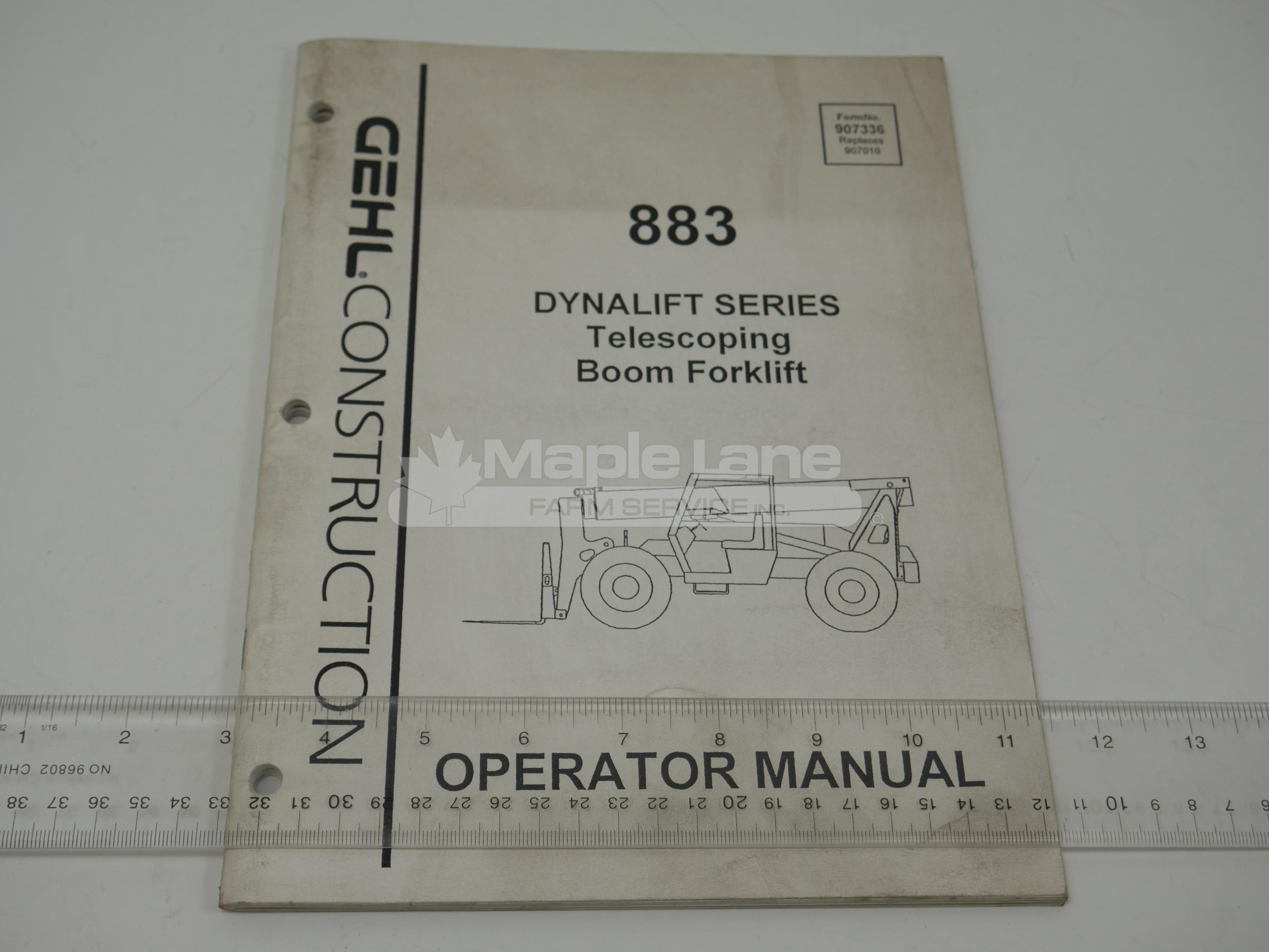 907336 Operator Manual