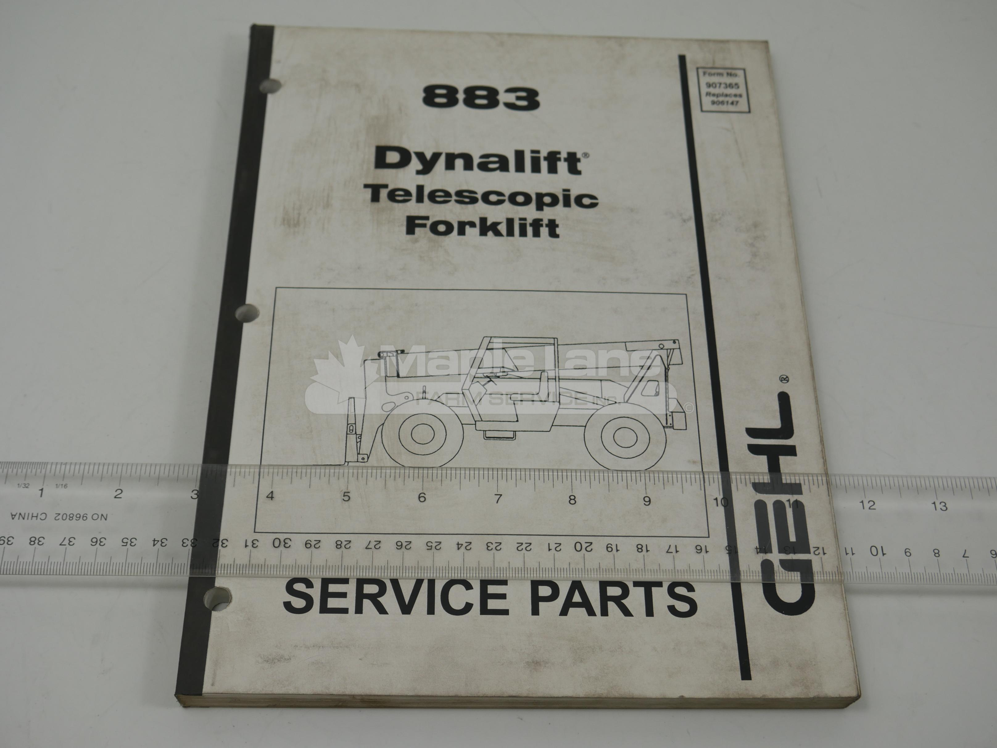 907365 Service Parts Manual
