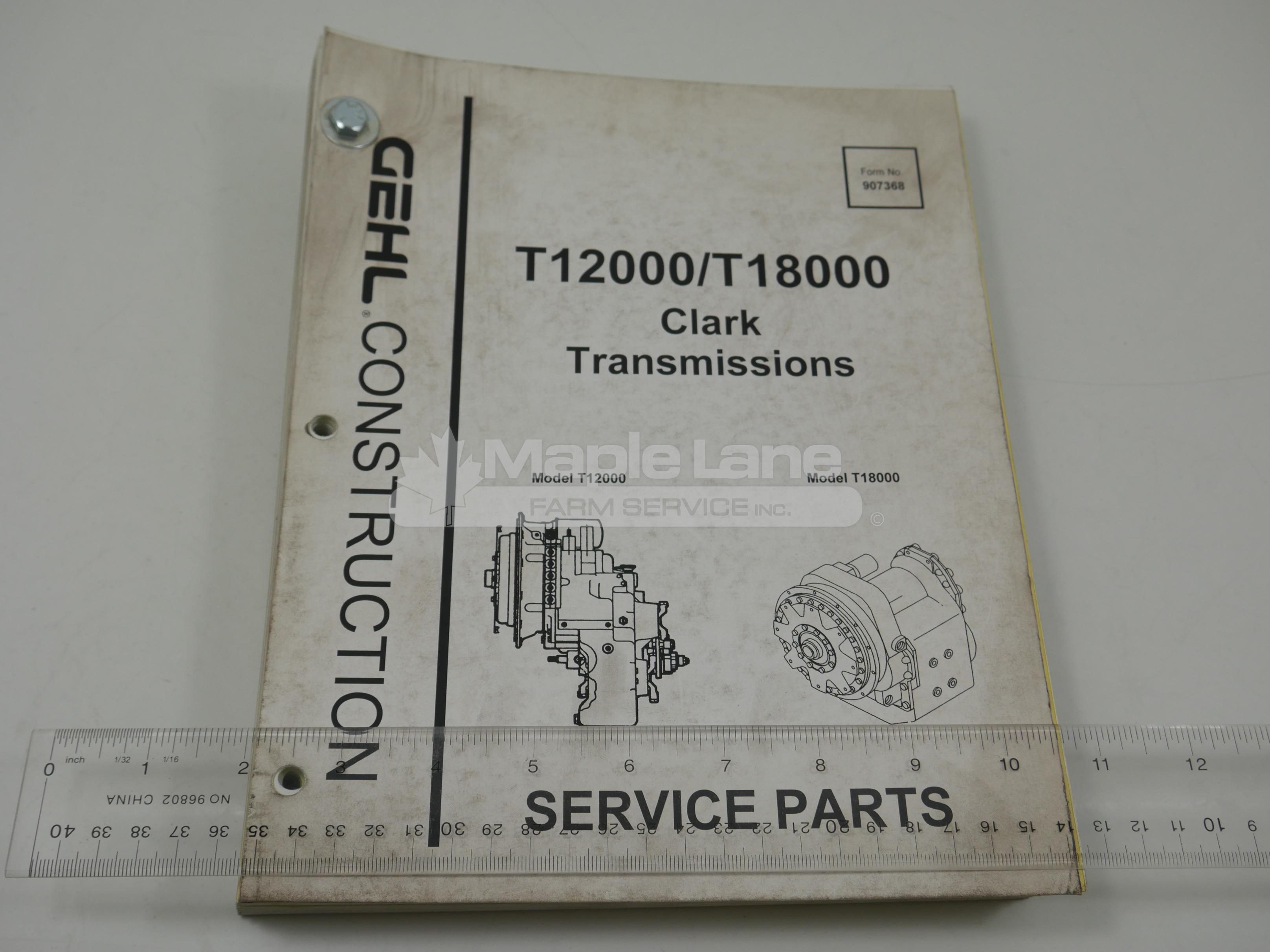 907368 Service Parts Manual