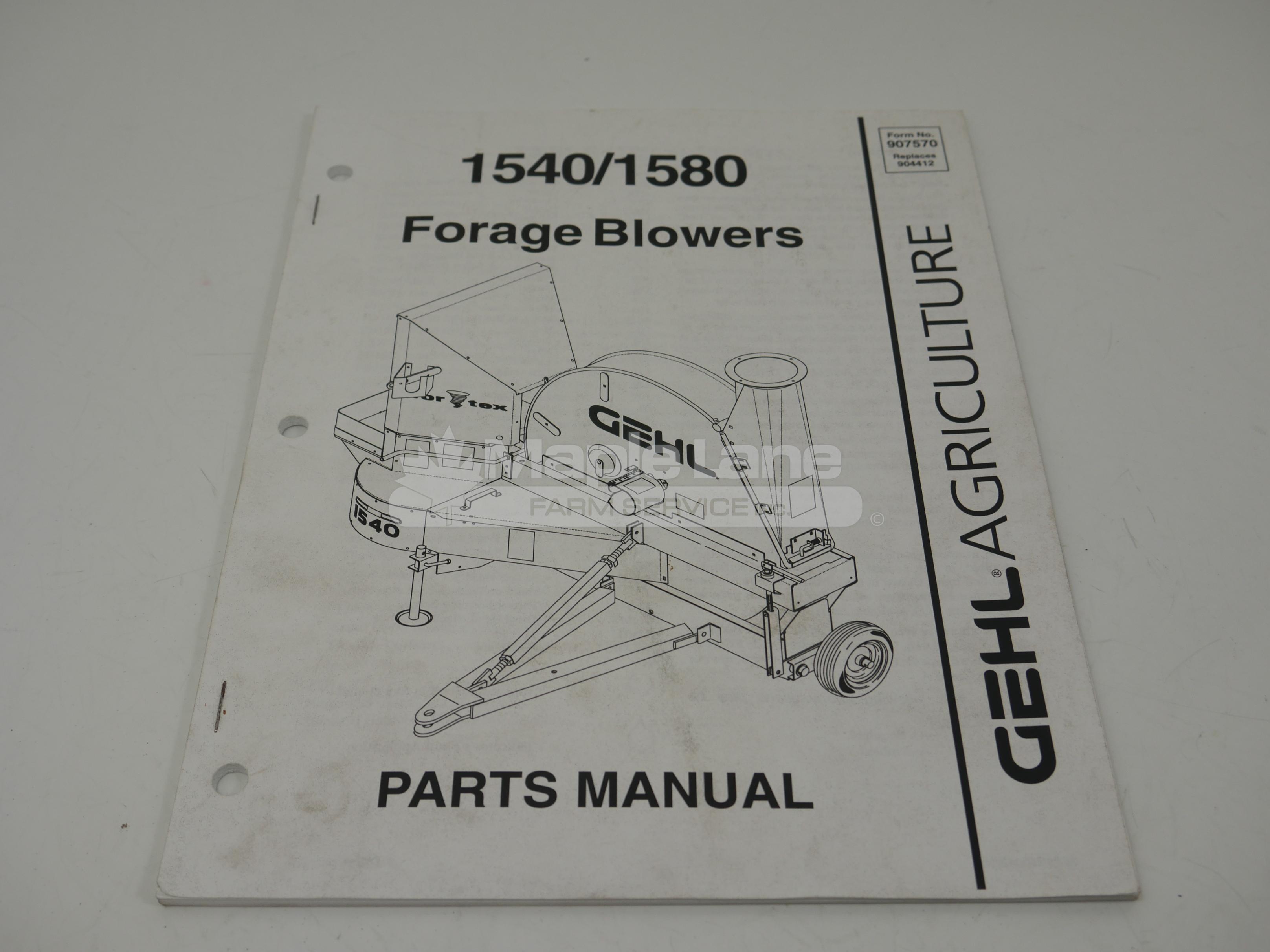 907570 Parts Manual