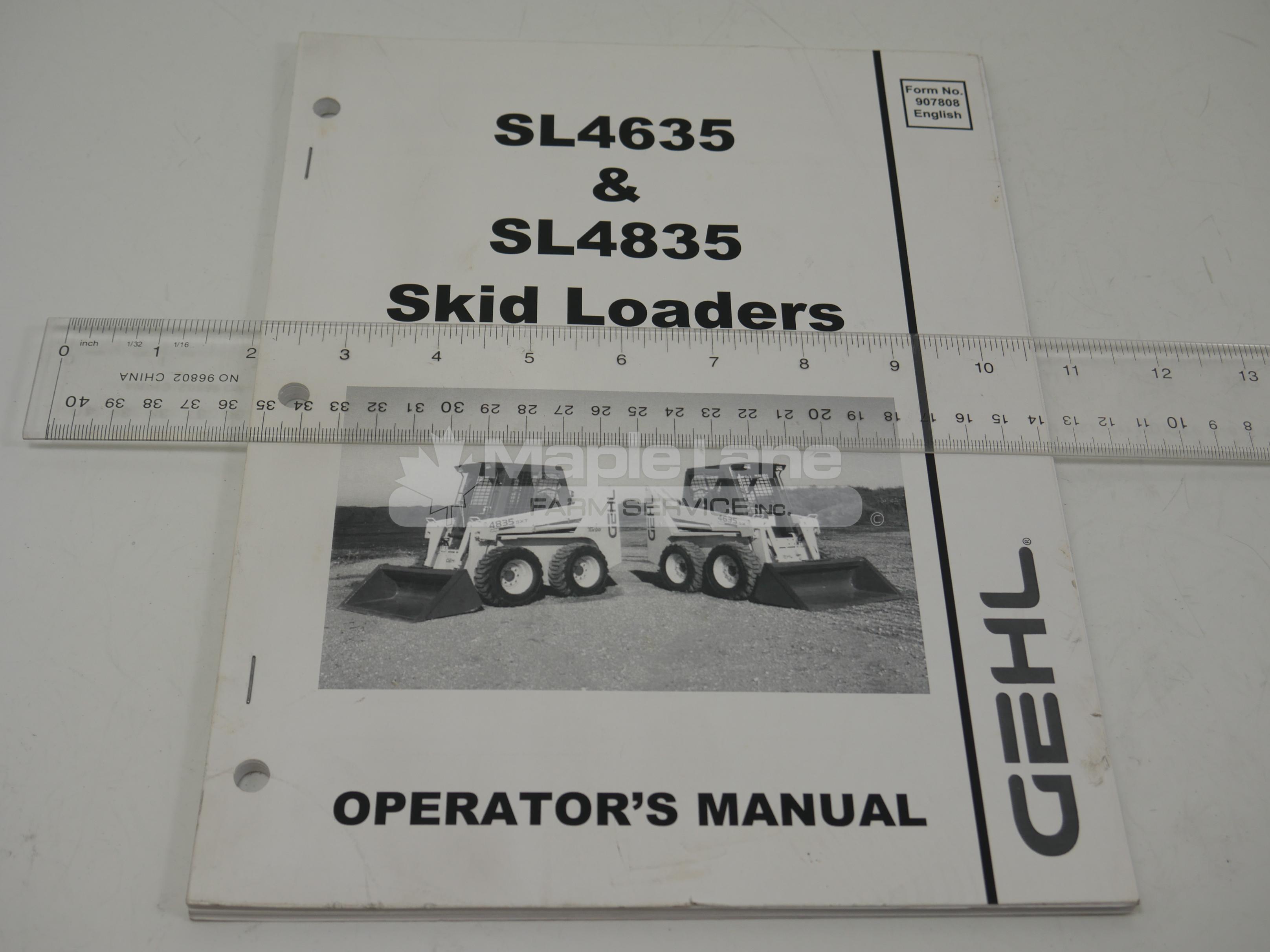 907808 Operator Manual