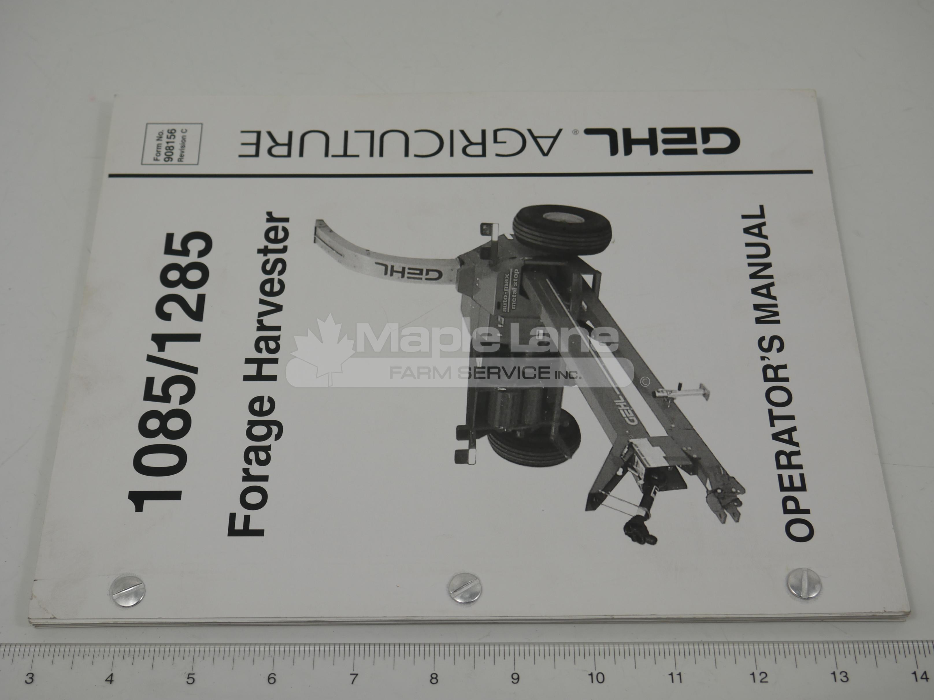 908156 Operator Manual