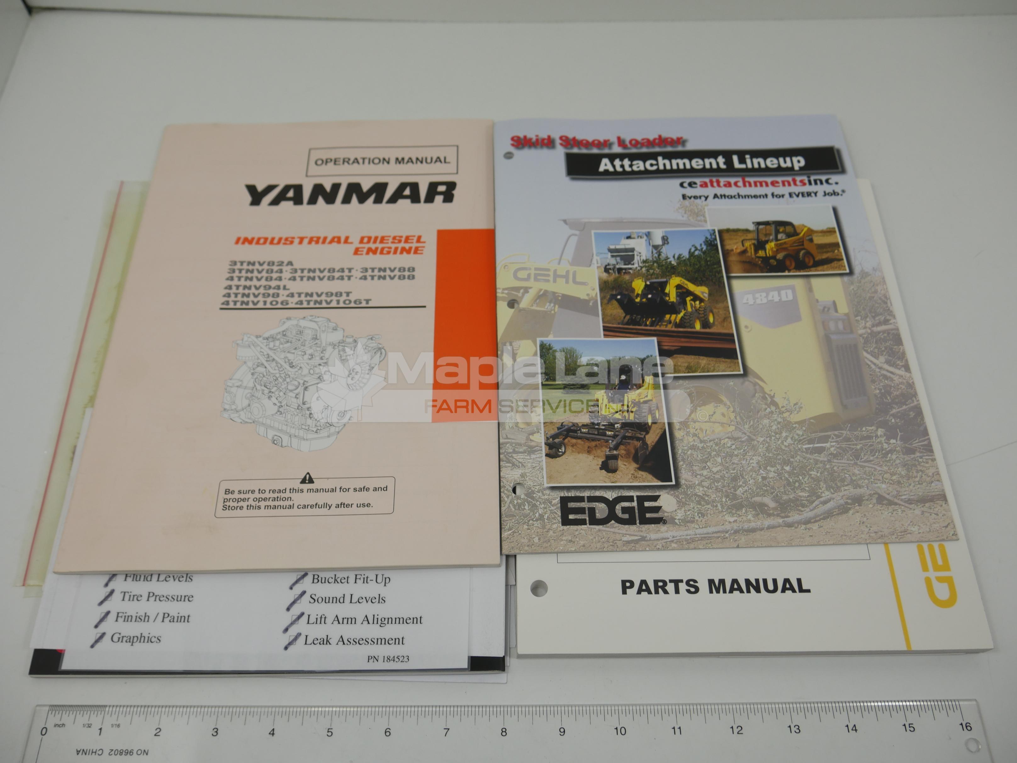 908267 Parts Manual